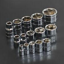 """Zócalo estándar 1Pc para llave de trinquete de 1/4"""" 3/8""""1/2"""" unidad 4 ~ 32 mm Métrica Manga"""