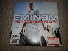 Eminem The Real Slim Shady OZ CD Single Card Sleeve