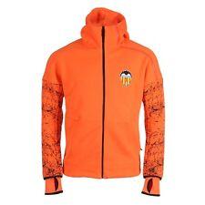 Camisetas de fútbol para hombres naranjas talla M