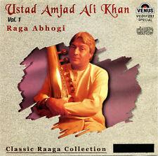 CD- Usad Amjad Ali Khan Vol.1- Raga Abhogi- India Import- 2004 Venus VCDSP 251