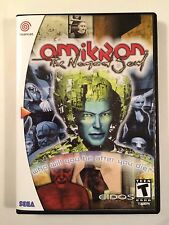 Omikron The Nomad Soul - Sega Dreamcast - Replacement Case - No Game