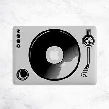 PLATO Giratorio Calcomanía Para Macbook Pro Pegatina de vinilo Laptop Mac Piel Portátil DJ Música