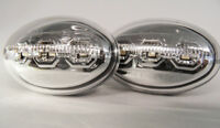 Chrome LED Side Repeaters Indicator Blinkers For Ford Ka 96-08 Transit 94-06
