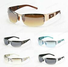 Men Sunglasses Fashion Designer Eyewear Rimless Transparent Hot Bike Sports 5011