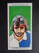 The Sun Soccercards 1978-79 - Paul Randall - Bristol Rovers #896