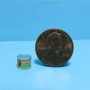 Dollhouse Miniature Replica Moist Cat Food Can HR57195