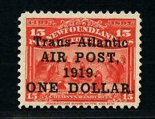 Neufundland Newfoundland 1919 Atlantikflug John Alcock 109 Postfrisch MNH