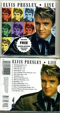 ELVIS PRESLEY LIVE Picture CD incudes LIMITED Edition POSTER - SEALED