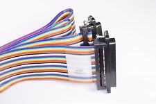 A7MMB-3706M TE Conn D-Sub Cable Assembly DB37 Male to Male Plug 6' Ribbon NOS