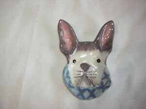 STONEWARE DOG TEABAG REST BRAND NEW WITH TAGS