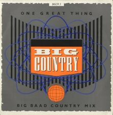 """Big Country One Great Thing Big Baad Country Mix LIMITED Uk 12"""""""