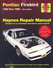 PONTIAC FIREBIRD,TRANS AM,S/E,151,173,191,V6,305,350 V8 HAYNES MANUAL 1982-1992