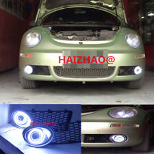 2x LED Daytime Fog Lights Projector angel eye kit For 2007-10 Volkswagen beetle
