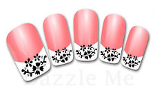 3D Nail Art Sticker Decals Transfer Stickers French Tip Design (3D820)
