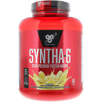 BSN Syntha-6 Ultra Premium Protein Matrix Banana 5 0 lbs 2 27 kg GMP Quality