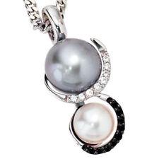 Behandelte Echtschmuck-Anhänger mit Perle