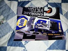 CHASE ELLIOTT SIGNED 2018 DAYTONA DUEL OVER HEAD VIEW WIN 8 X 10 PHOTO B