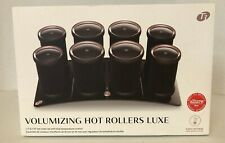 T3 - Volumizing Hot Rollers LUXE   Premium Hair Curler Set for Long Lasting Volu