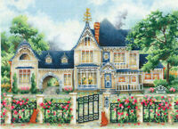 Counted Cross Stitch Kit MAKE YOUR OWN HANDS - English Manor