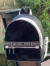 Michael Kors Kenly Lightweight Nylon Medium Backpack Black