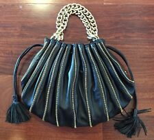 Emporio Armani Gold Zip Handbag