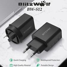 BlitzWolf BW-S12 27W QC4.0 PD Type-C Port EU AU USB Quick Charge Charger Adapter