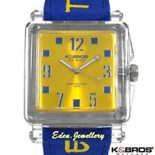 Authentic K&BROS Ice Time Men Watch Model 9415-2 Italy Water Resistant Brand New