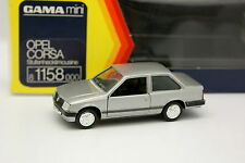 Gama 1/43 - Opel Corsa 2 Portes Grise