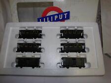 Liliput HO Set - Nr. 718S - 6 Wagons - unbenutzt in OVP - Rarität !!!!