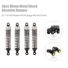 4pcs RC Car Parts 90mm Metal Shock Absorber Damper for 1:10 Traxxas HSP C5I5