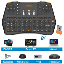 2.4GHz Mini Wireless Keyboard Air Mouse Touchpad For Android PC Smart TV Box