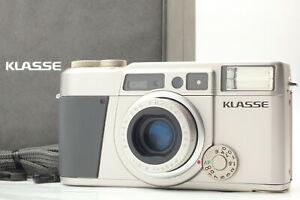 【Exc+4 Boxed】 Fujifilm Fuji Klasse Silver 35mm Point & Shoot Camera From JAPAN