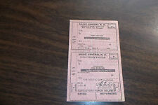 MAINE CENTRAL FORM L10-B BLANK UNUSED TICKET