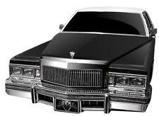 E&G Classics Cadillac DEVILLE RWD Low Profile Vertical Grille Silver 1977 78 79