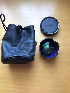 MINOLTA 0.65 x Wide Angle CONVERTER VLW - 500 AUX Lens W/ Caps And Pouch