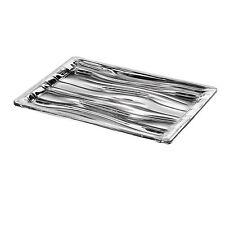 GUZZINI - Vassoio rettangolare Aqua grigio trasparente tg. M 32x23x2,8  €33