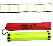 2 X 5 Rung Speed Agility Ladder Soccer Football Fitness Sports Training 2 Meter
