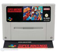 Nintendo SNES Spiel - World League Basketball Modul mit Anl.