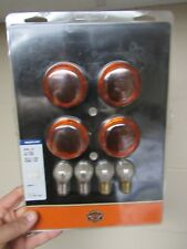Harley-Davidson Turn Signal Lens Kit-Smoked Bullet # 69304-02 new NIB