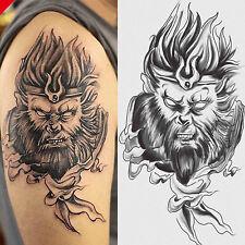 Monkey King Sun Wukong Temporary Tattoo Waterproof Body Arm Leg Art Stickers