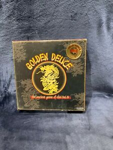 GOLDEN DEUCE - THE ANCIENT GAME OF CHOI DAI DI - Black Box Edition NEW Sealed