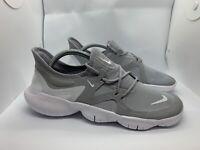 Men's Nike Free RN 5.0 Wolf Grey White Running Shoes AQ1289-001 Size 10