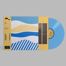 Tom Rogerson & Brian Eno Finding Shore BLUE VINYL LP Record & MP3! ambient NEW!!