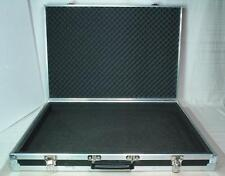 Very Slim Flightcase Transit Case 76cm x 53cm x 11cm fitted with Sponge
