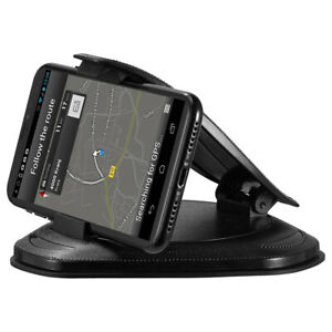 "DASHBOARD CAR MOUNT HOLDER FOR 3"" - 7"" DEVICES WITH ADHESIVE SILICONE FOR IPHONE"