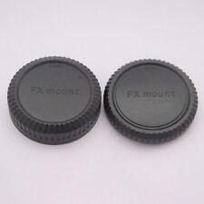 Body And Rear Caps For FUJIFILM FX Mount Cameras & Lens UK Seller