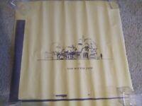 Vintage Disneyland Mad Hatter Shop Blue Print Copy of the Front Area