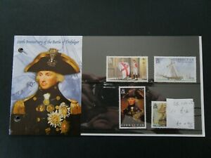 Gibraltar: 2005 Bicentenary of the Battle of Trafalgar, MNH set