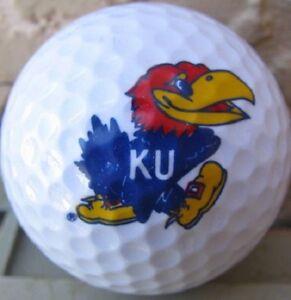 (36) Callaway Mix Mint AAAAA NCAA UNIVERSITY OF KANSAS JAYHAWKS Used Golf Balls