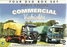 GREAT BRITISH COMMERCIAL VEHICLES - 4 DVD BOX SET, JAMBOREE, TRIBUTE & MORE